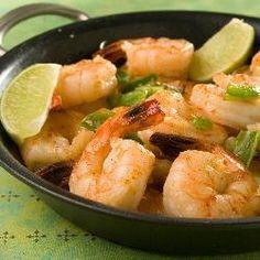 Spicy Garlic & Chilli Prawns