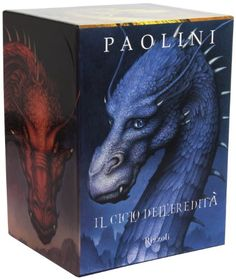 Il ciclo dell'eredità: Eragon-Eldest-Brisingr-Inheritance di Christopher Paolini http://www.amazon.it/dp/8817052612/ref=cm_sw_r_pi_dp_UOQywb11GYBHT