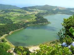 Lagoa das Furnas, Sao Miguel, Azores