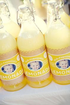 lemonade/personalized wrappers
