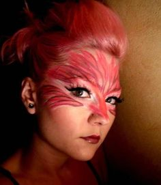 flamingo+mask+https://www.makeupbee.com/look_flamingo-mask_11836