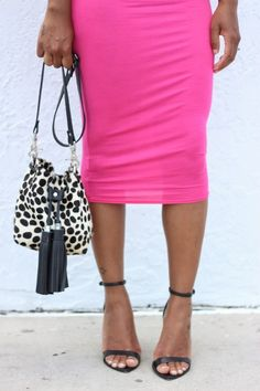 Pink, Black & White. StyleLust Pages: Black, White & Pink