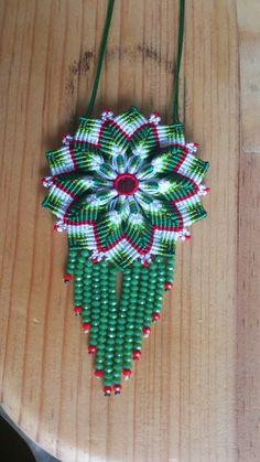 Mandala macrame pattern - Lucy Bisuteria