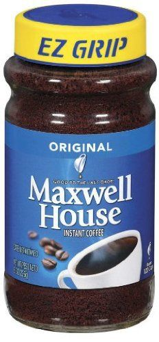 Maxwell House Instant Coffee 8 oz -- Click affiliate link Amazon.com on image for more details.
