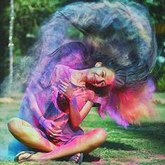 Image could contain: one or more people and outdoors - insta pic bucket list - Photographie Smoke Bomb Photography, Paint Photography, Portrait Photography Poses, Creative Photography, Amazing Photography, Photography Hacks, Photography Camera, Wedding Photography, Holi Pictures