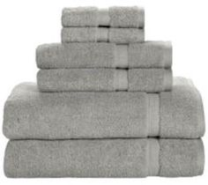 Bath Towels At Walmart Mesmerizing Mainstays Quick Drying 6Piece Bath Towel Set  Walmart Design Ideas