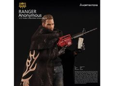 *PRE-ORDER* RANGER ANONYMOUS: YEW Series 1/12 Scale Action Figure By Vortex Toys