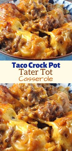 Ingredients 1 lb ground beef 2 cloves garlic minced 1 oz packet taco seasoning oz cheddar cheese soup 32 oz frozen tater tots 2 cups shredded cheddar cheese divided Get IngredientsPowered by Chicory Open Next Page To See Full Recipe Ground Beef Crockpot Recipes, Slow Cooker Ground Beef, Healthy Ground Beef, Ground Beef Casserole, Beef Recipes For Dinner, Healthy Crockpot Recipes, Crockpot Meals, Quick Crock Pot Recipes, Tater Tot Taco Casserole