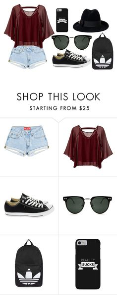 """Untitled #136"" by yologirl4233 ❤ liked on Polyvore featuring Traffic People, Converse, Spitfire, Topshop and Gucci"
