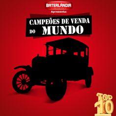 Dos carros que mais venderam no Brasil, para os mais vendidos no mundo! Confira aqui na Baterlândia os 10 carros mias vendidos de todos os tempos!