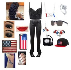 """Veterans Day"" by raven-ranger on Polyvore featuring Paige Denim, BERRICLE, Casetify, Costa, Bling Jewelry, Billabong and Victoria's Secret"