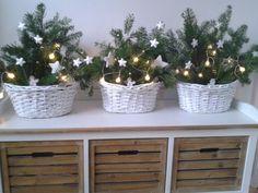 vánoční výzdoba jednoduše a pěkně