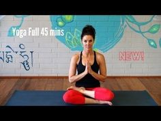 Yoga Vinyasa Strong Flow - Full 45 minutes - Advanced - YouTube
