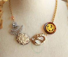 ladies creme brulee necklace @sweetshoppejewelry