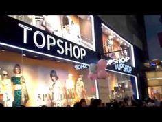 TOPSHOP Grand Opening in Hong Kong
