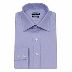Chemise coupe classique en Natté parme #chemise http://www.cafecoton.fr/chemises/10433-chemise-coupe-classique-en-natte-parme.html