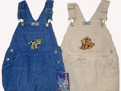 Toddler Girls Cotton Corduroy Embroidery Bib Pocket Overall $11.99 - $24.99