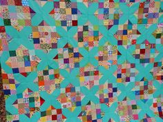 Quilting Blog - Cactus Needle Quilts, Fabric and More: Scrappy Crossroads Quilt