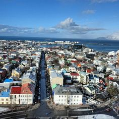 The colorful city of Reykjavik stole my heart. I could stare at those mountains for hours.  #citiesbycolor #iceland #reykjavik http://ift.tt/1RYuIRz   #northernlights #city #cityranking #whichwaytosomewhere #travelsmarter #traveltheworld #traveldeeper #travelblog #travelwriter #travel #travelblogger #mountains #snow #instatravel #wanderful #wanderlust #pictureperfect #travellocal #heart #passportready