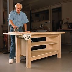 Rock-Solid Plywood Bench 250 simple