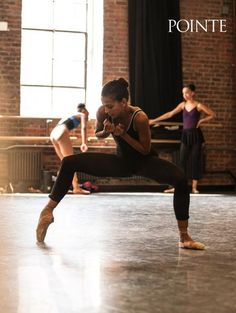 Dance Theatre of Harlem's Gabrielle Salvatto in rehearsal. Photo by Quinn Wharton for Pointe.
