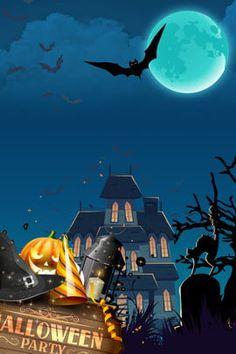 Bloody Halloween, Halloween Scarecrow, Halloween Haunted Houses, Scary Halloween, Halloween Cartoons, Halloween Vector, Halloween Poster, Feliz Diwali, Halloween Illustration