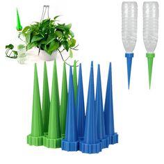4+Pcs+Automatic+Watering+Irrigation+Spike+Garden+Plant+Flower+Drip+Sprinkler+Water+db