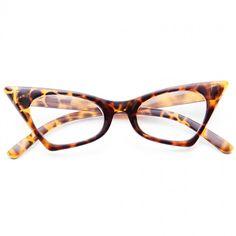 Clear Cat Eye Glasses | Esme Sharp Cat Eye Clear Glasses | BleuDame.com