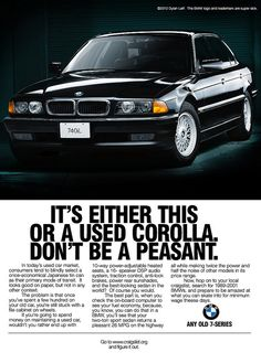 We own this car. It's true, BMW is the Ultimate Driving Machine. Even a peasant feels like a king behind this steering wheel. Bmw 740i, Suv Bmw, Bmw E38, Bmw Cars, New Age, Mercedes Benz, Volkswagen, Bmw Vintage, Auto Union