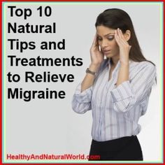 Alternative ways to get rid of this nasty malady! #migrainesSUCK