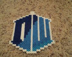 Doctor Who Logo Perler Bead Design