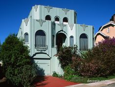 Art Deco House - San Francisco