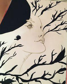 Sanat Günlüğü: Çizim Günlüğü #6 Ay Prensesi - Daily Drawings #6 M...