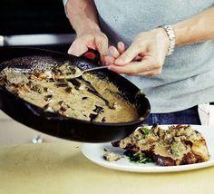 Mushroom, sherry & grain mustard sauce