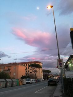 #Pink #Sunset #Winter #Clouds 🌆⛅