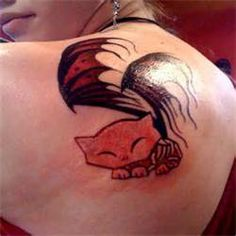 Cat Tattoo Designs Desings Trendy Models Laser Tattoos picture 3479