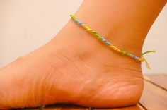 How to Make Ankle Bracelets