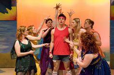 "Sonny Malone (Jordan Craig) falls under the spell of the Muses in jukebox musical ""Xanadu"""
