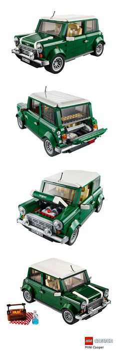 Experience the iconic MINI Cooper first hand, with its classic lines, detailed interior and fun picnic theme.