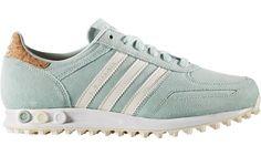 adidas LA Trainer W schoenen blauw wit bruin