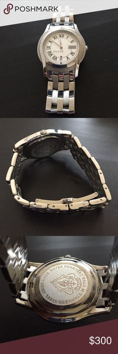 Authentic Gucci Watch Great everyday watch. Barely worn. Great condition. Bought at Gucci store in the American manhasset in New York Gucci Accessories Watches