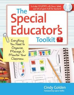 The Special Educator's Toolkit: Everything You Need to Organize, Manage, and Monitor Your Classroom by Cindy Golden Ed.D, http://www.amazon.com/dp/1598570978/ref=cm_sw_r_pi_dp_vUZTrb0T6YDAQ