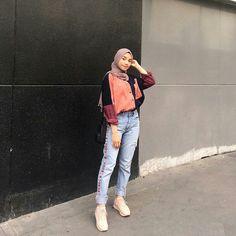Modest Fashion Hijab, Modern Hijab Fashion, Casual Hijab Outfit, Hijab Fashion Inspiration, Hijab Chic, Muslim Fashion, Ootd Hijab, Fashion Outfits, Modest Dresses