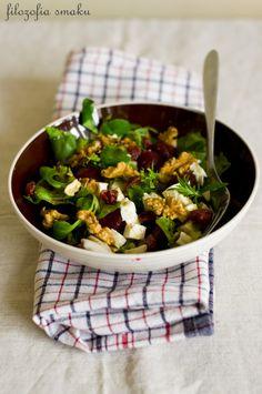 Pickled beetroot and feta salad