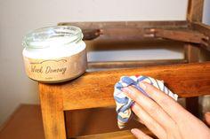 Majsterki - DIY, zrób to sam, jak to zrobić Krzesło w spadku po PRL-u Wood Creations, Baking Ingredients, Cookie Dough, Diy, Interior Design, Reuse, Rooms, Sofa, Bricolage