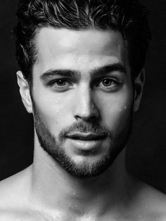 This is where I post what I think are the hottest guys ever! Hairy Men, Bearded Men, Handsome Faces, Face Men, Hommes Sexy, Moustaches, Monochrom, Hair And Beard Styles, Attractive Men
