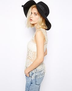 AsosRiver Island Oversized Fedora Hat - Obsessed with this hat and need it in my life
