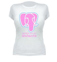 Camiseta Quisiera ser un elefante