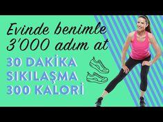 Evinde Yağ Yakma hedefine ulaş - YouTube Facial Yoga, Fat Burning, Pilates, Health Fitness, Hair Beauty, Gym, Youtube, Car Stickers, Diet