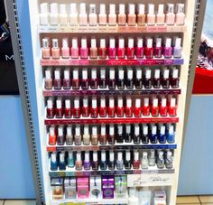 Nail polish paradise #essie #nailpolish #nails #nailart